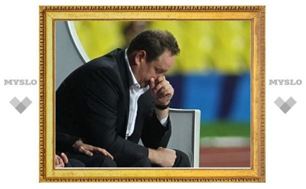Слуцкого удивило удаление лучшего бомбардира ЦСКА