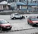 В Киреевске перебегавшая дорогу пенсионерка попала под колеса Kia Rio: видео