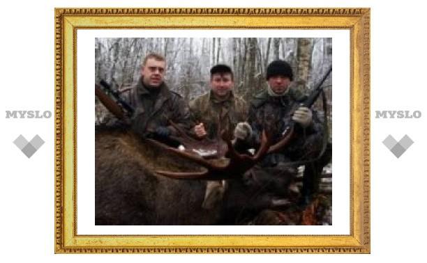 В Тульской области повязали браконьера