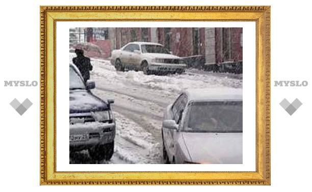 Беспредел на дорогах Тулы: снег никто не убирает