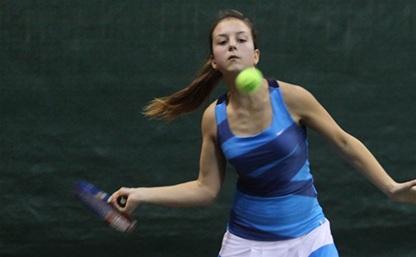 Тульские теннисисты пробились в полуфиналы региональных первенств