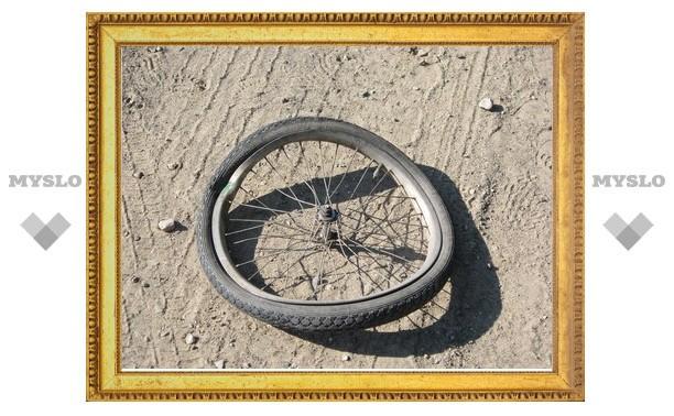 В Щекинском районе Тульской области иномарка насмерть сбила велосипедиста