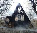 В Туле на Зеленстрое сгорела дача