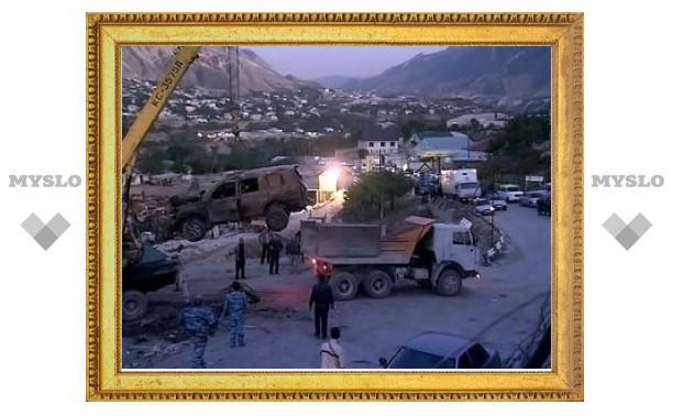 Взрыв в Дагестане оказался покушением на главу района