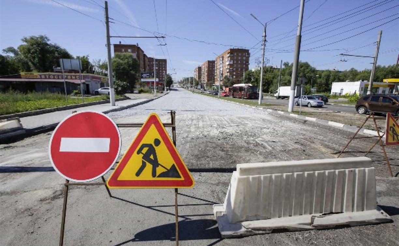 В Туле после ремонта откроют движение по улице Ложевой
