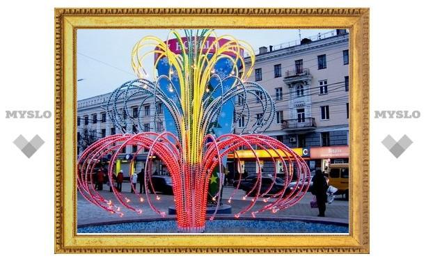 На украшение центра города потратят почти миллион рублей
