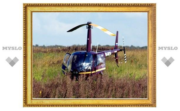 Владимир Груздев осмотрел районы области с вертолета