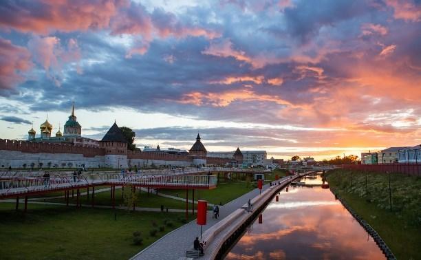 Казанскую набережную в Туле не будут закрывать на карантин