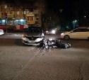 На улице Металлургов в Туле сбили мотоциклиста