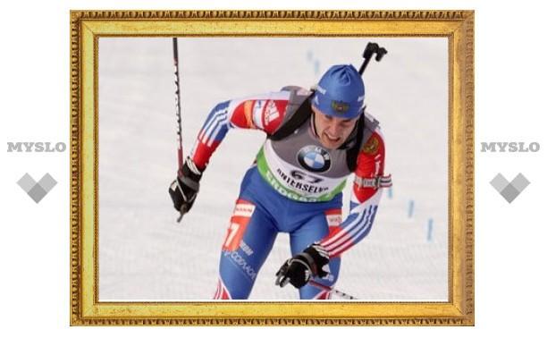 Штраф российского биатлониста приняли за сбой электроники