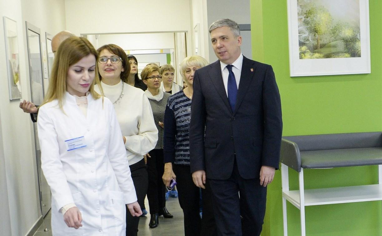 Андрей Третьяков: «Бережливая поликлиника на улице Марата в Туле – это только начало»