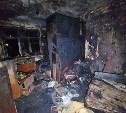 На ул. Луначарского в Туле при пожаре погиб мужчина