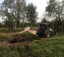 На Медвенско-Осетровском водозаборе в Туле устраняют последствия аварии