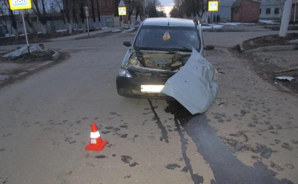 В ДТП в Ефремове пострадала шестилетняя девочка