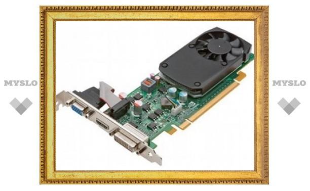 Nvidia показала два новых графических процессора