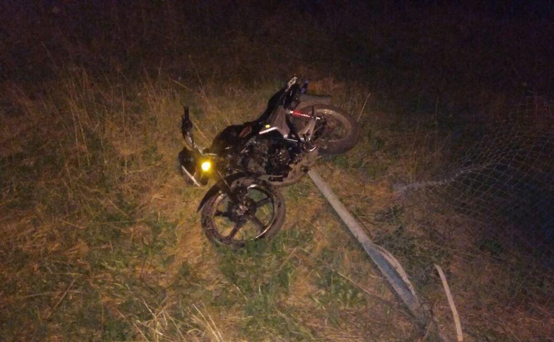 В Тульской области «бесправный» мотоциклист попал в ДТП