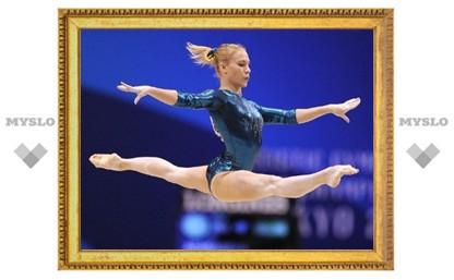 Гимнастка Ксения Афанасьева – лучшая спортсменка 2012 года!