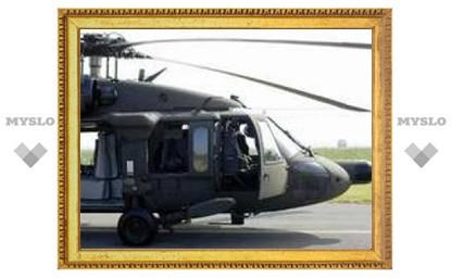 На юге от Багдада сбит американский вертолет