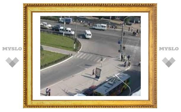 На проспекте Ленина сломался троллейбус