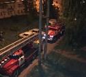 Ночью в Новомосковске произошел серьезный пожар