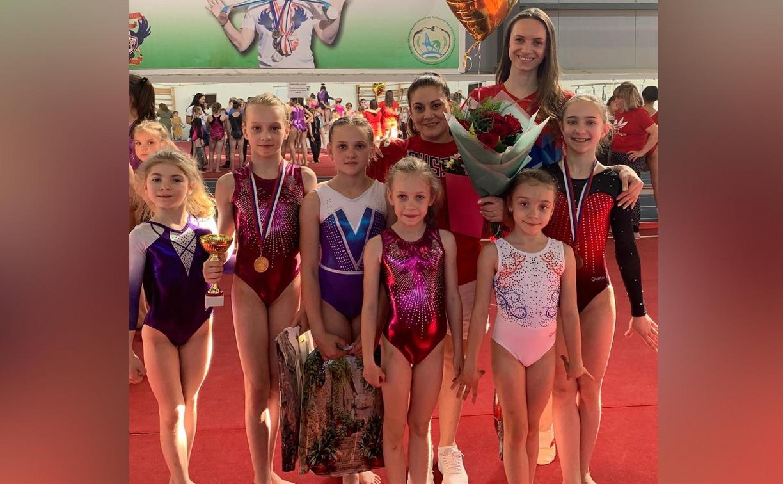 Тульские гимнастки привезли медали со всероссийских соревнований