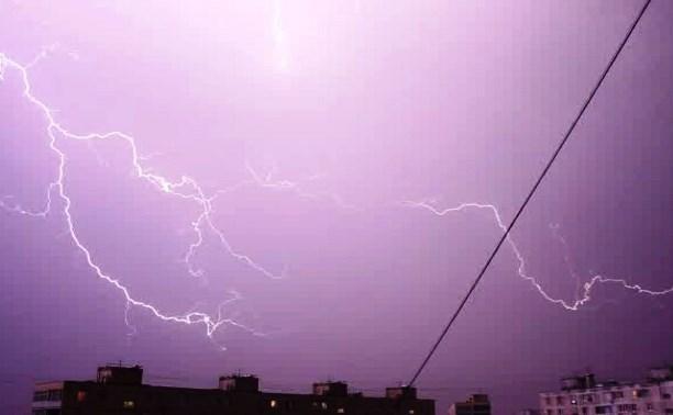Погода в Тульской области: вновь объявлен желтый уровень опасности