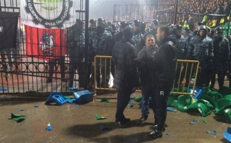 Беспорядки на матче «Арсенал» – «Торпедо»: информации о пострадавших нет