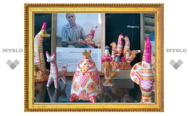 В Туле открылась выставка глиняной игрушки