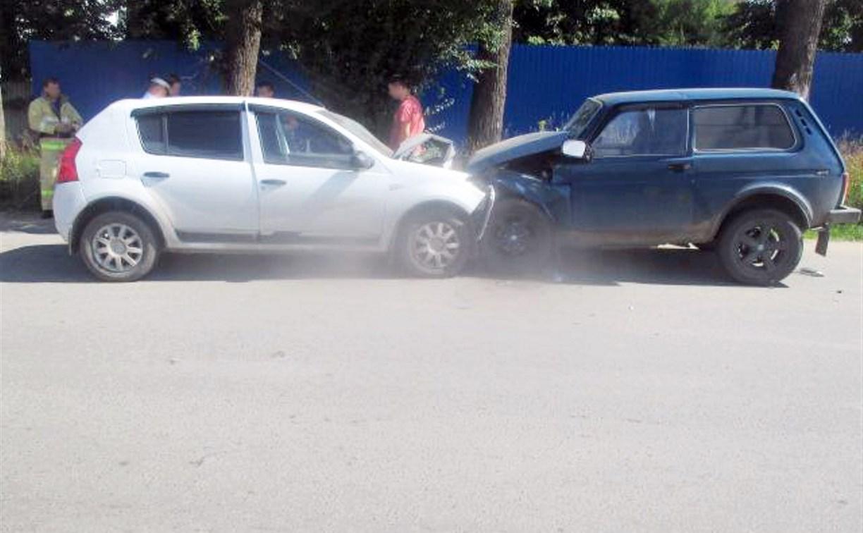 В ДТП на ул. Приупской в Туле пострадали два человека