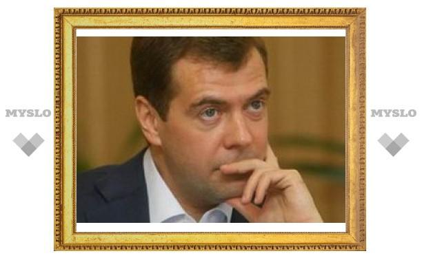 Медведев спрогнозировал улучшение отношений с Грузией и Украиной