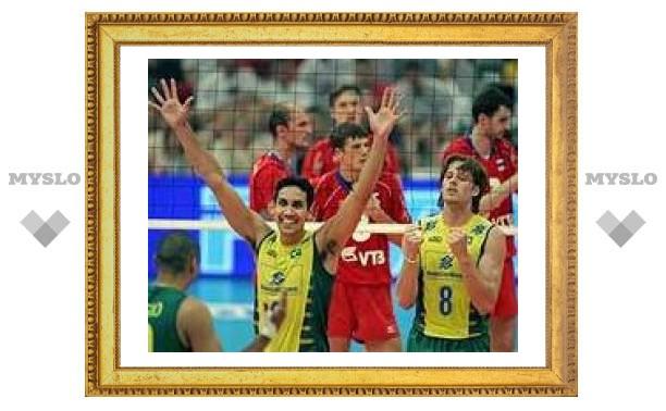 Российские волейболисты проиграли финал Мировой лиги