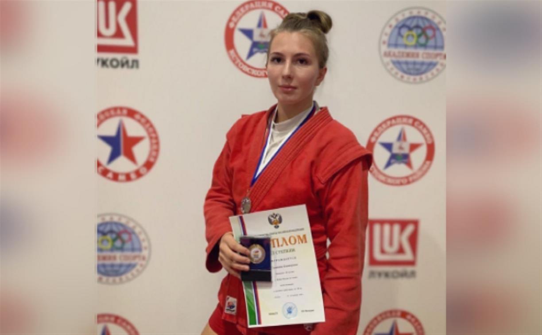 Тулячка завоевала бронзу на Кубке России по самбо