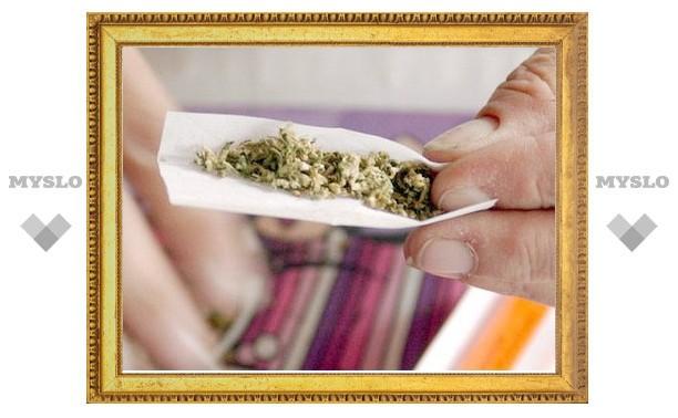 Туляк заключен под стражу за незаконный сбыт марихуаны