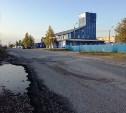 В Новомедвенском проезде Тулы засыпали аварийную яму