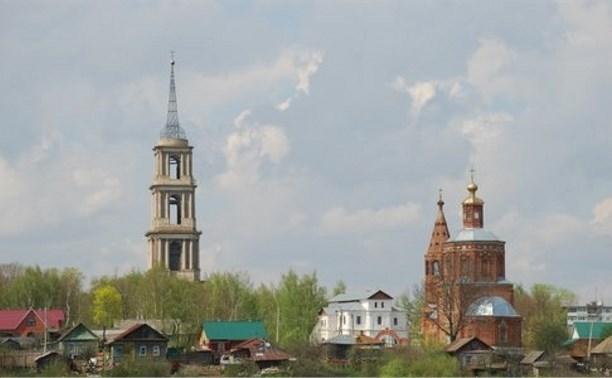 Колокольню Никольской церкви в Венёве отреставрируют