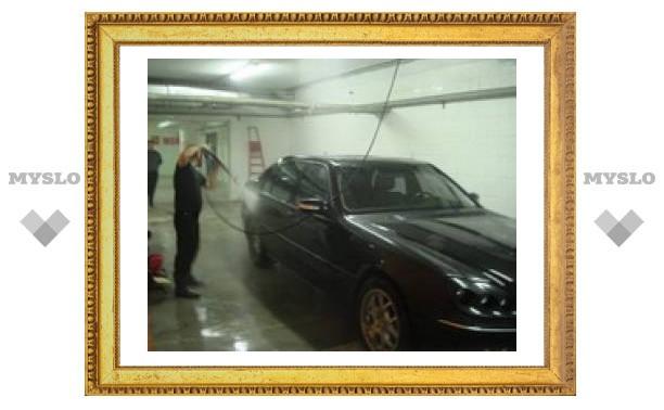 В тульских автомойках перестали мыть машины