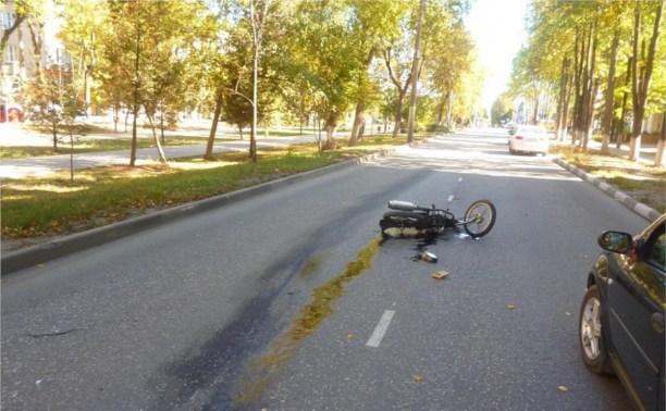 В Новомосковске разбился 16-летний мотоциклист