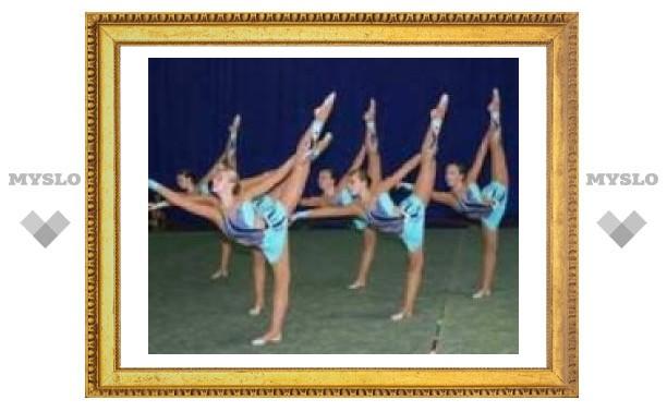 Тульские гимнастки - лучшие в мире