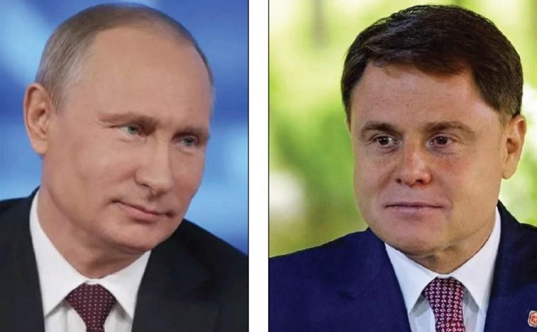 Президент России Владимир Путин наградил Владимира Груздева