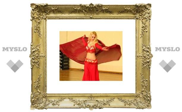 Восточные танцы тульских красавиц