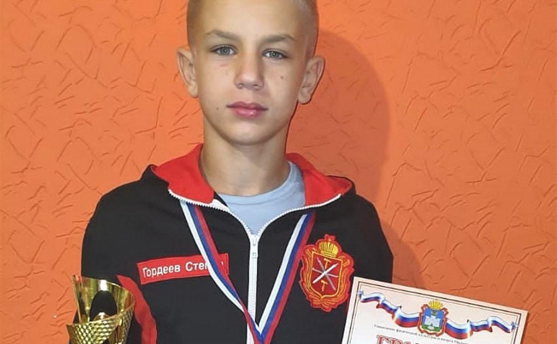 Юный туляк выиграл Кубок губернатора Орловской области по вольной борьбе