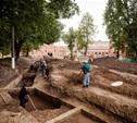 На территории кремля снова начались археологические раскопки