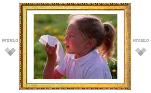 Лечение поллиноза у детей снижает риск астмы почти в пять раз