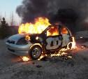 Туляк угнал и сжег автомобиль знакомого