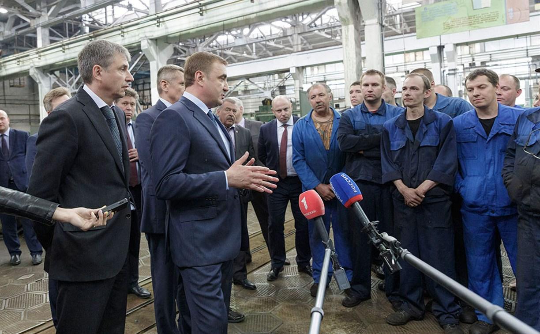 Алексей Дюмин встретился с коллективом Алексинского опытного механического завода