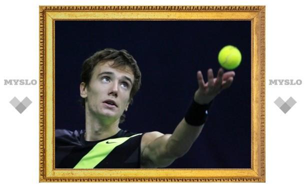 Тульский теннисист дошел до полуфинала престижного туринира