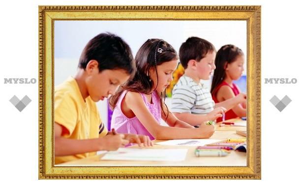 В тульские школы начали брать с трех лет