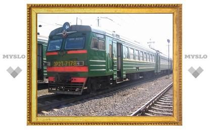 Тульские поезда меняют свой график