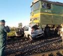 В аварии с тепловозом в Киреевском районе погибла женщина
