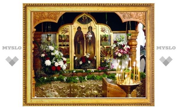 В Тулу привезут икону святых Петра и Февронии